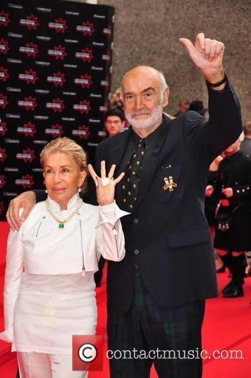 Micheline Connery, Sir Sean Connery  Edinburgh International...