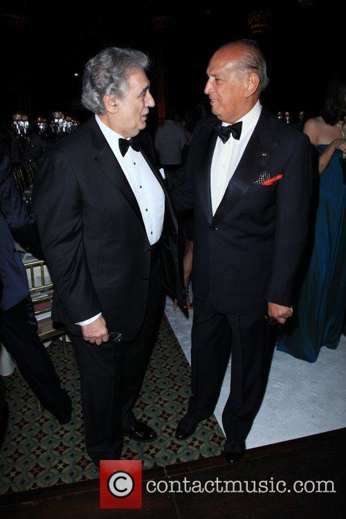 Placido Domingo and Oscar De La Renta 6