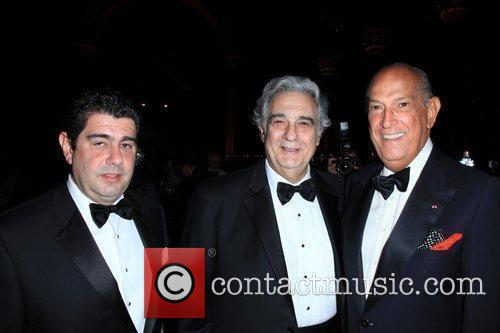 Placido Domingo and Oscar de la Renta 1