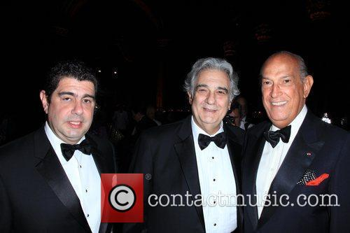Placido Domingo and Oscar De La Renta 2