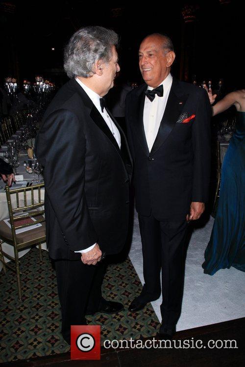 Placido Domingo and Oscar de la Renta 10