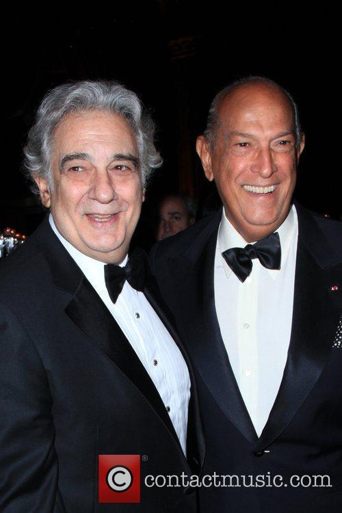 Placido Domingo and Oscar De La Renta 3