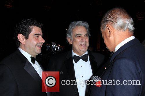 Placido Domingo and Oscar de la Renta 8