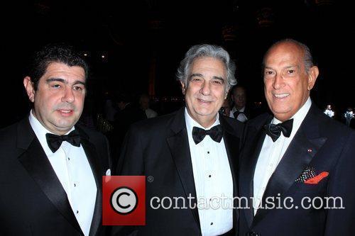 Placido Domingo and Oscar de la Renta 11