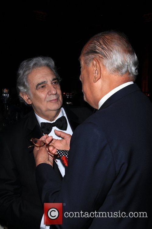 Placido Domingo and Oscar de la Renta 9