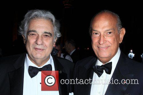 Placido Domingo and Oscar de la Renta 12