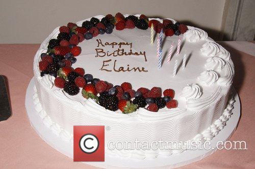 Elaine Stritch Birthday cake Elaine Stritch's 85th Birthday...