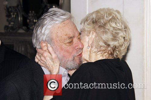 Stephen Sondheim and Elaine Stritch 1