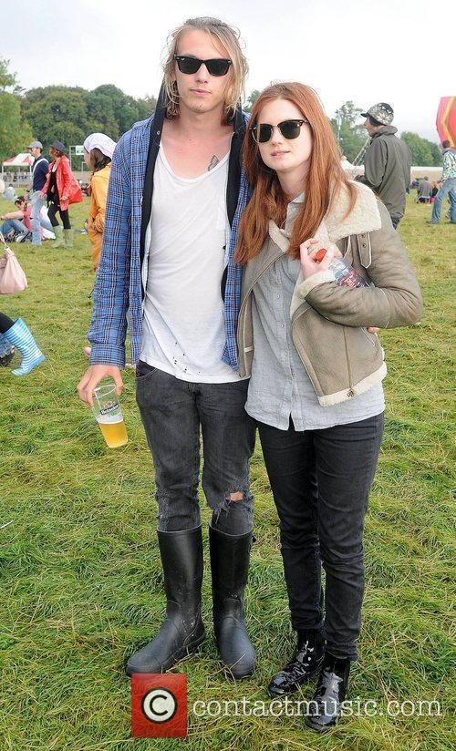 Bonnie Wright and Jamie Campbell Bower