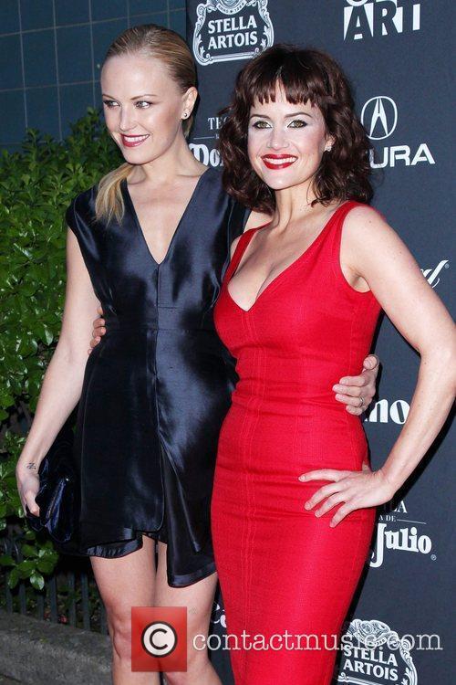 Malin Akerman and Carla Gugino 15th Anniversary Gen...