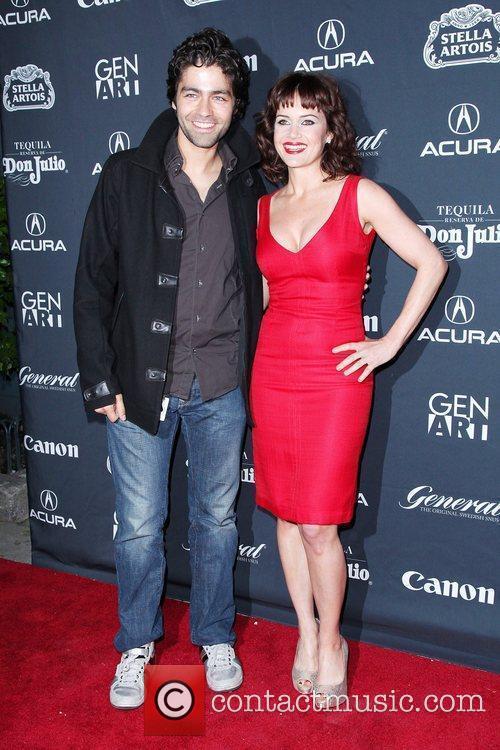 Adrian Grenier and Carla Gugino 15th Anniversary Gen...