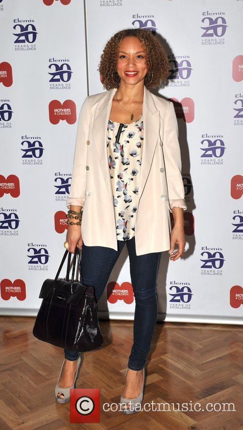 Angela Griffin Elemis - launch event held at...