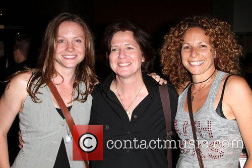 Ashleigh Sumner, Director Nicole Conn and Meredith Scott...