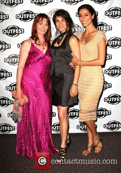 Mary Wells, Traci Dinwiddie and Necar Zadegan The...