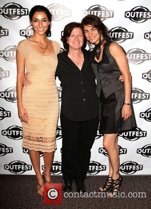 Necar Zadegan, Director Nicole Conn and Traci Dinwiddie...