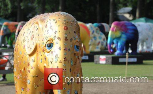 Mark Shand Elephant Parade - auction held at...