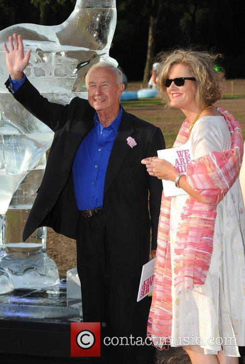 Sir Terence Conran and guest Elephant Parade -...