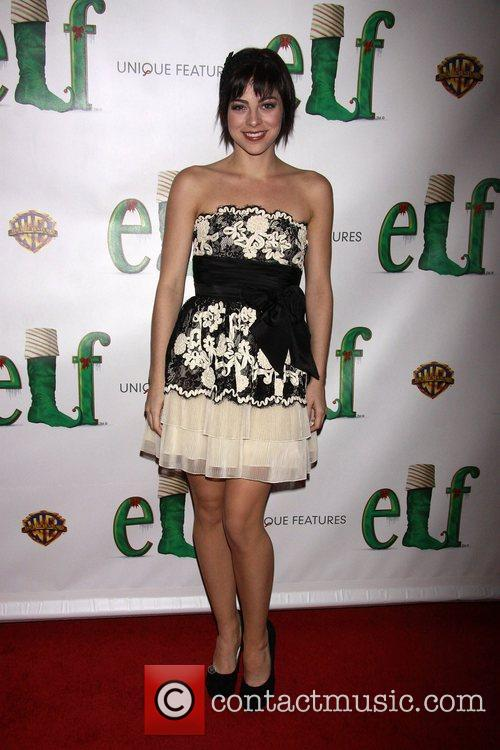 Krysta Rodriguez Opening night of the Broadway musical...