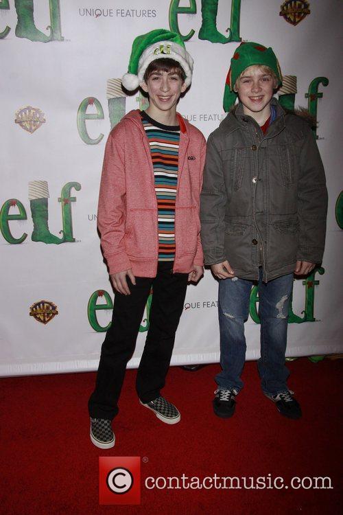 Jacob Clemente and Joseph Harrington Opening night of...