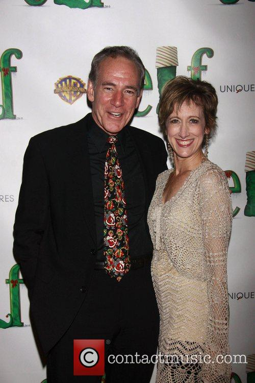 Mark Jacoby and Valerie Wright Opening night of...