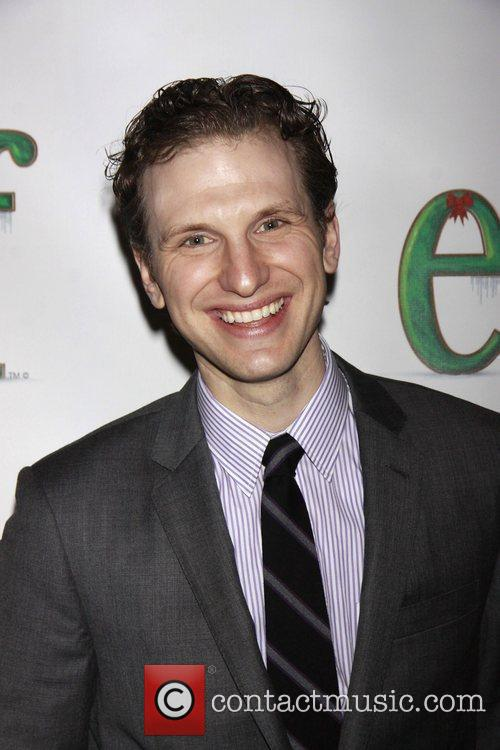 Sebastian Arcelus Opening night of the Broadway musical...