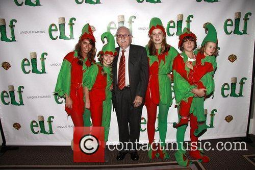 Thomas Meehan and his grandchildren Opening night of...