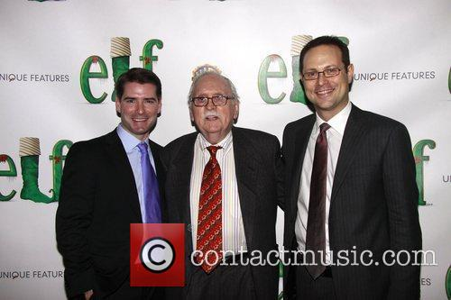 Thomas Meehan Opening night of the Broadway musical...