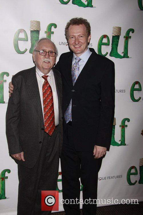 Thomas Meehan and Bob Martin Opening night of...
