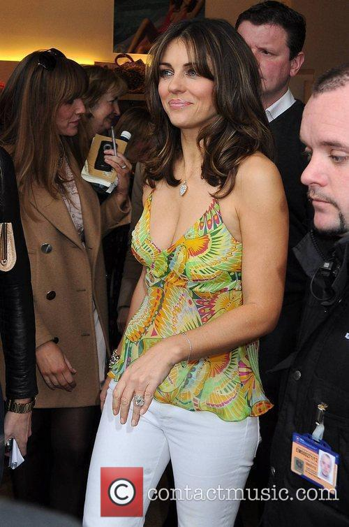 Opening of Elizabeth Hurley Beach Boutique in Kildare...