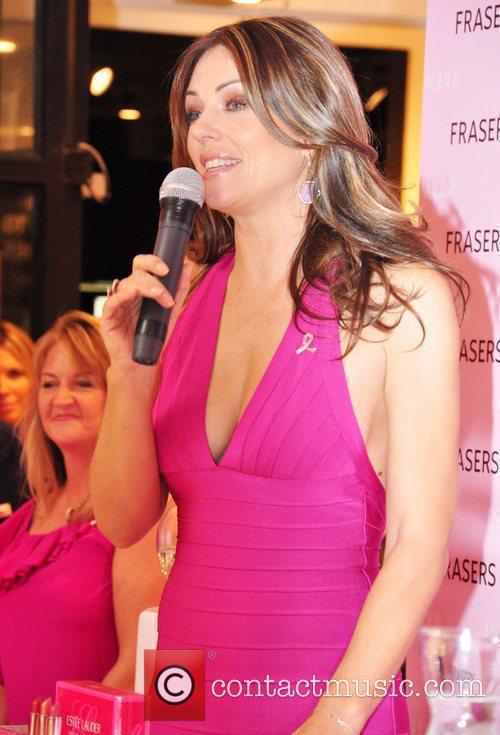 Elizabeth Hurley, Estee Lauder and Fraser 4