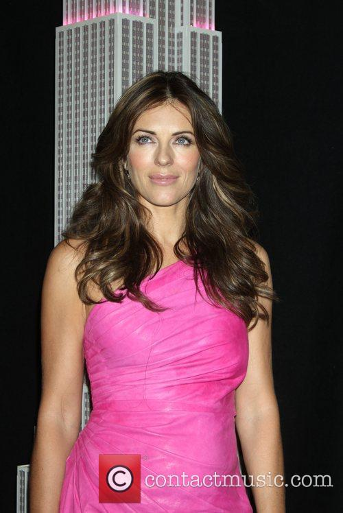 Elizabeth Hurley, Estee Lauder, Lights and Pink 1
