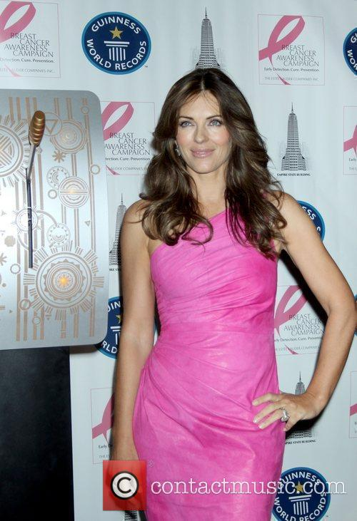 Elizabeth Hurley, Estee Lauder, Lights and Pink 7