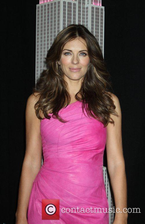 Elizabeth Hurley, Estee Lauder, Lights and Pink 6