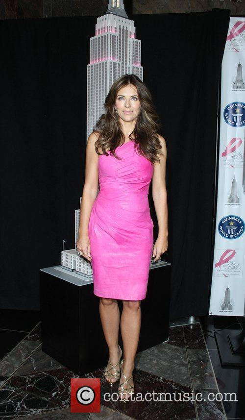 Elizabeth Hurley, Estee Lauder, Lights and Pink 2