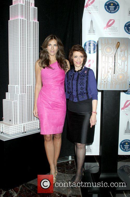 Elizabeth Hurley, Estee Lauder and Pink 10