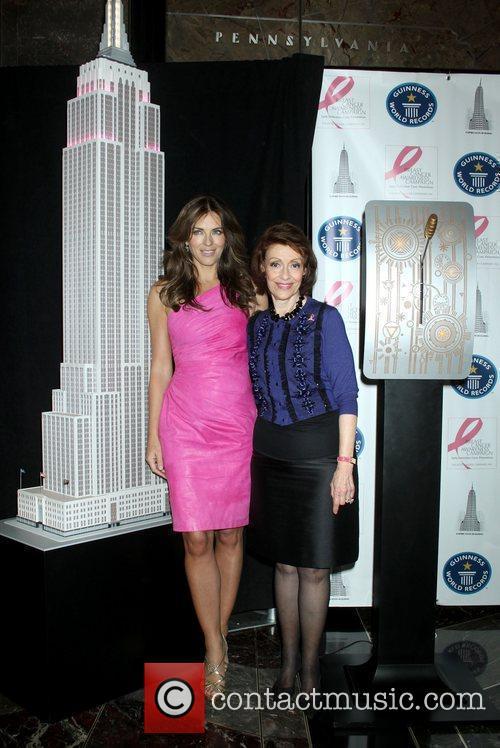 Elizabeth Hurley, Estee Lauder and Pink 5