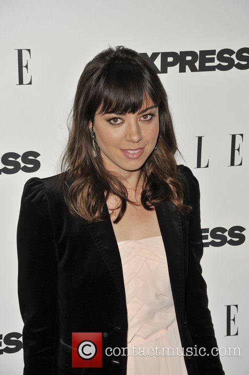 Aubrey Plaza  ELLE and Express 25 at...