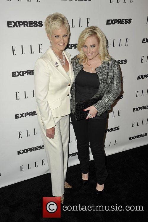Cindy Hensley McCain; Meghan McCain ELLE and Express...