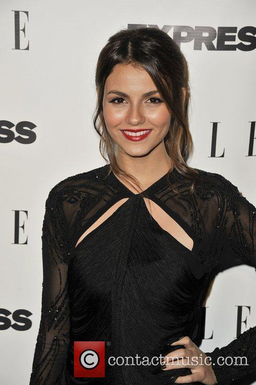 Victoria Justice  ELLE and Express 25 at...