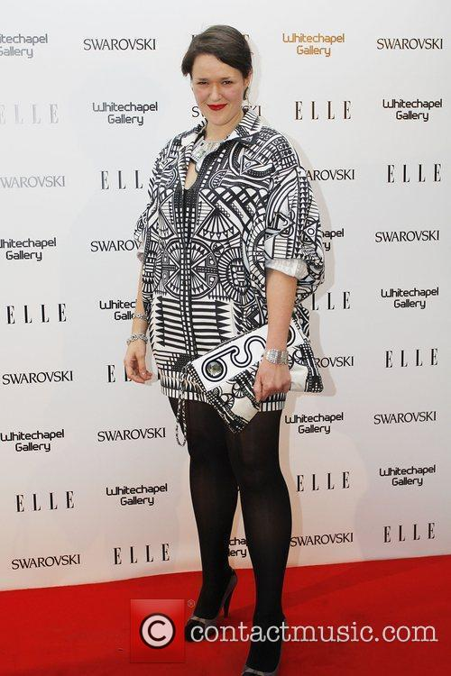 Holly Fulton ELLE 25th anniversary party held at...