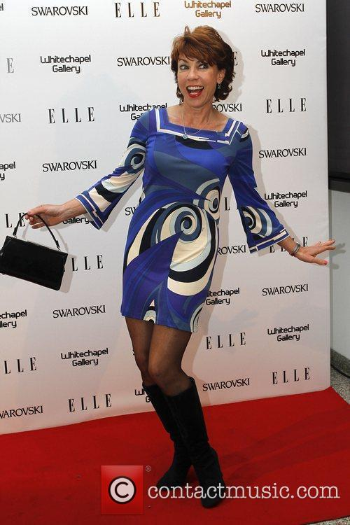 Kathy Lette ELLE 25th anniversary party held at...