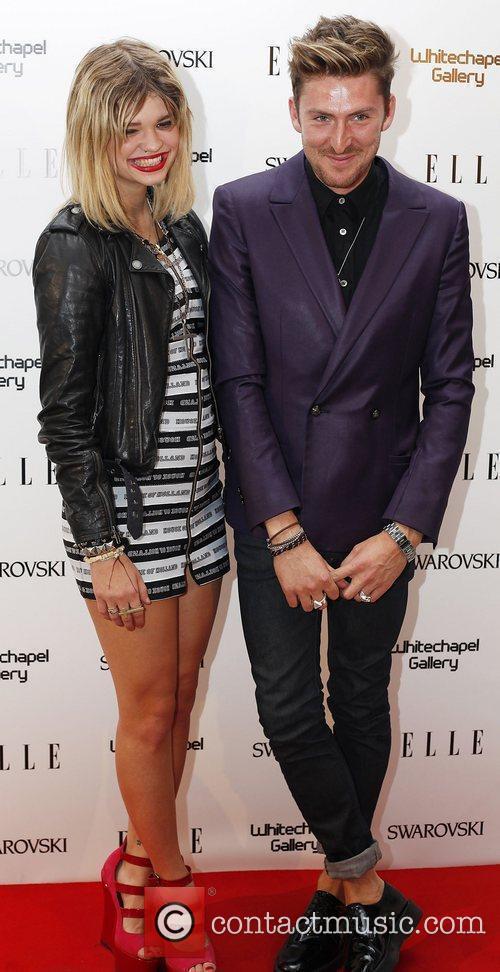 Pixie Geldof and Henry Holland  ELLE 25th...