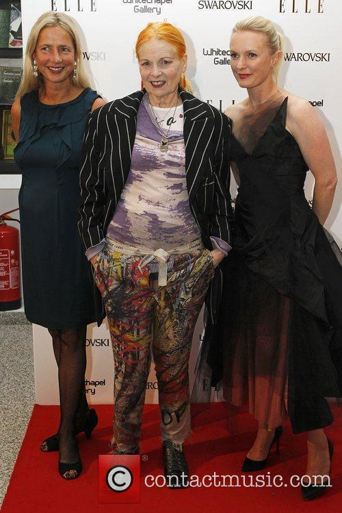 Vivienne Westwood and Lorraine Candy ELLE 25th anniversary...