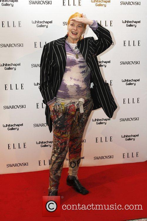Vivienne Westwood  ELLE 25th anniversary party held...