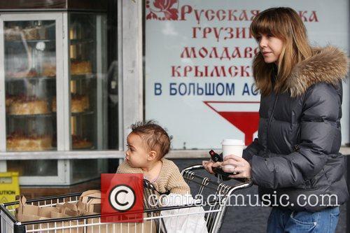 Ellen Pompeo and her daughter Stella Ivery return...