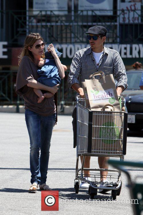 Seen shopping at Whole Foods in West Hollywood.