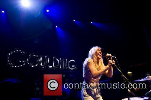 Performing live at the Shepherds Bush Empire