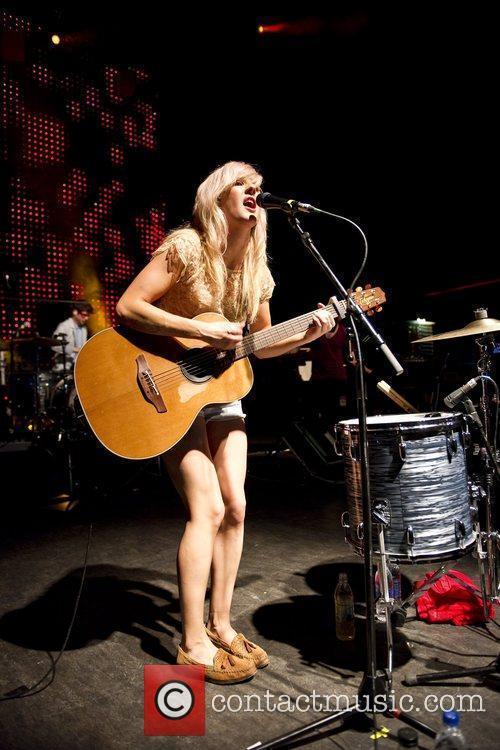 Ellie Goulding performing live at the Shepherds Bush...