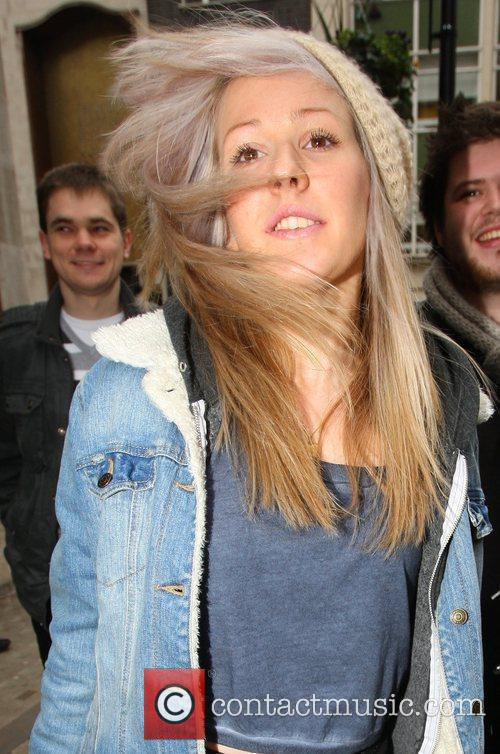 Leaves the BBC Radio 1 studios after performing...