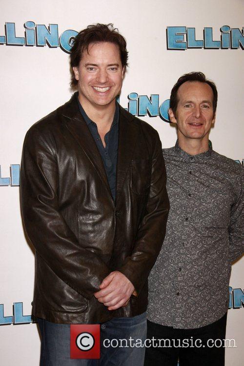 Brendan Fraser and Denis O'Hare  Photocall for...